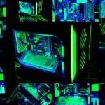 Фотоколлаж проекта L3p - Parvum в темноте