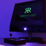 Вид проекта с его логотипом на экране, проектов включен
