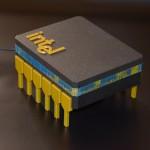 Общий вид проекта The microprocessor