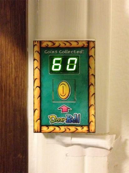 Общий вид дверного звонка Mario Doorbell