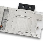 Ватерблок EK-FC R9-290X DCII в версии Nickel, вид снизу