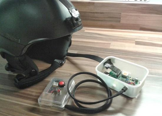 Камера на шлеме