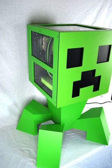 Моддинг проект Minecraft Creeper MbK от моддера kier в завершенном состоянии