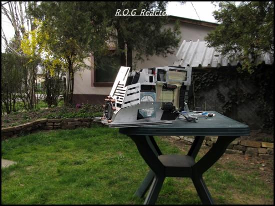 Моддинг проект R.O.G Reactor от моддера Zsolt Guriga на данном этапе
