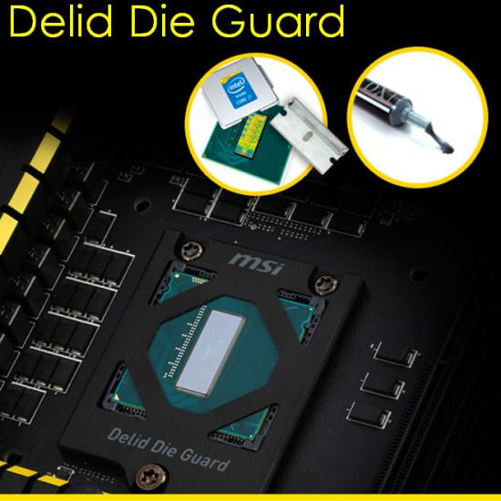 Крепление Delid Die Guard для процессоров без теплораспределительной крышки