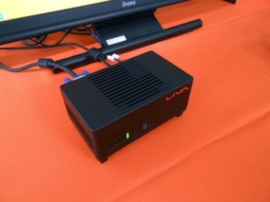 Обший вид мини-компьютера ECS Liva