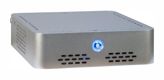 Общий вид компьютерного корпуса Q-6 Silver от компании Inter-Tech