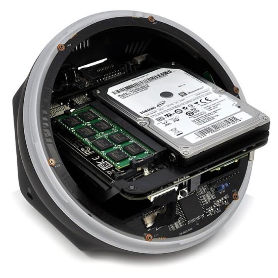 Доступ к компонентам внутри ZBox Sphere OI520