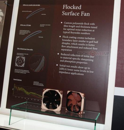 Информация про флокированные вентиляторы Noctua