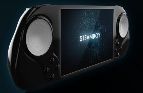 Примерный вид игровой консоли Steamboy
