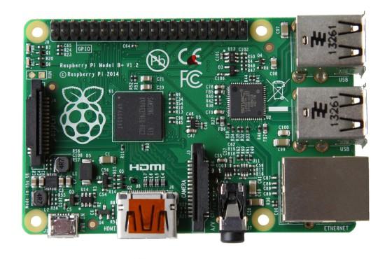 Raspberry Pi Model B+ — обновленная версия популярного микро-компьютера