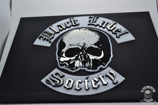 Верхняя часть моддинг проекта Black Label Society на данном этапе