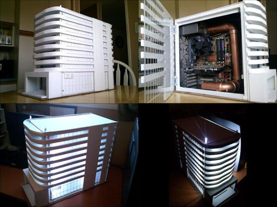 Общий вид проекта Prj2 'Downtown' на данном этапе