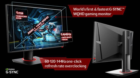 Информация про монитор ASUS Republic of Gamers (ROG) Swift PG278Q Gaming Monitor