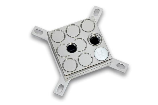 Ватерблок EK-Supremacy EVO в версии с крышкой из никелированной латуни