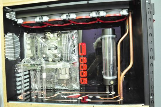 Моддинг проект SAKSAK 800 D CASE MOD+ на данном этапе