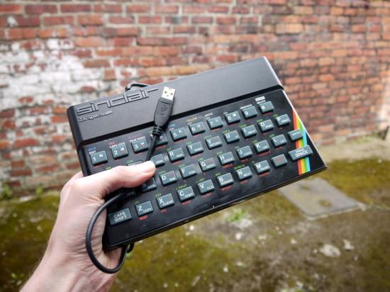 Общий вид получившейся клавиатуры