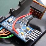 Вид вблизи на Arduino