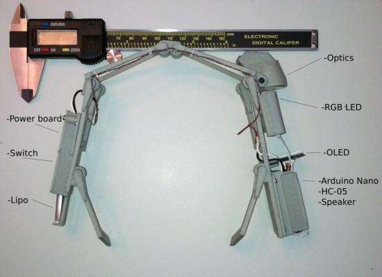 Компоненты, используемые в компьютерных очках