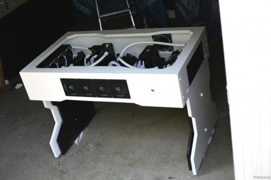 Моддинг проект Watermod Desk на данном этапе