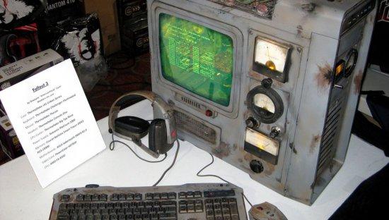 Вид моддинг проекта Fallout 3 PC на столе