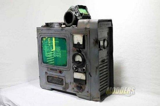 Вид слева на моддинг проект Fallout 3 PC