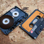 NFC тег внутри корпуса кассеты