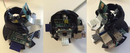Начинка камеры наблюдения
