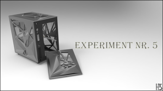 Рендер моддинг проекта Experiment Nr. 5