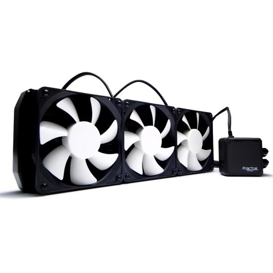 Общий вид системы водяного охлаждения Fractal Design Kelvin S36