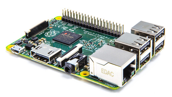 Общий вид одноплатного компьютера Raspberry Pi 2